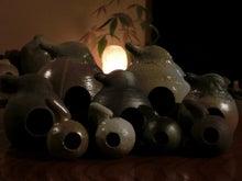 音のなる壺(陶器)、森のほこらの響き おとだま-おとだま(たくさん).jpg