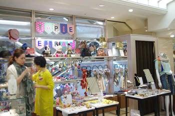 *カンボジアの綿クロマーと赤ちゃん帽子のお店*-タピエ 高島屋さん
