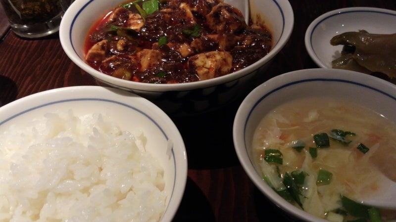 ムネオの部屋-陳麻婆豆腐 セット