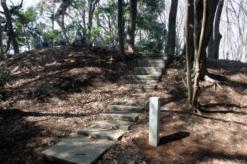 小山田城/本丸の入口