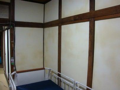 「カフェ・古民家の様な部屋にリフォーム」してゆったり暮らす♪珪藻土・漆喰で 塗り壁施工。