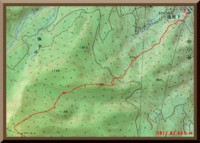 ロフトで綴る山と山スキー-gps_track