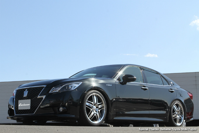 Lorinser Japan Official Blog-Lorinser RS9 For IKEGAMI, Toyota Crown