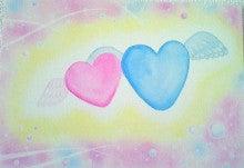 ハートのつばさ☆パステルアートで心自由に空を飛ぶ!【東京・大分】-ハートのつばさ☆パステルアート