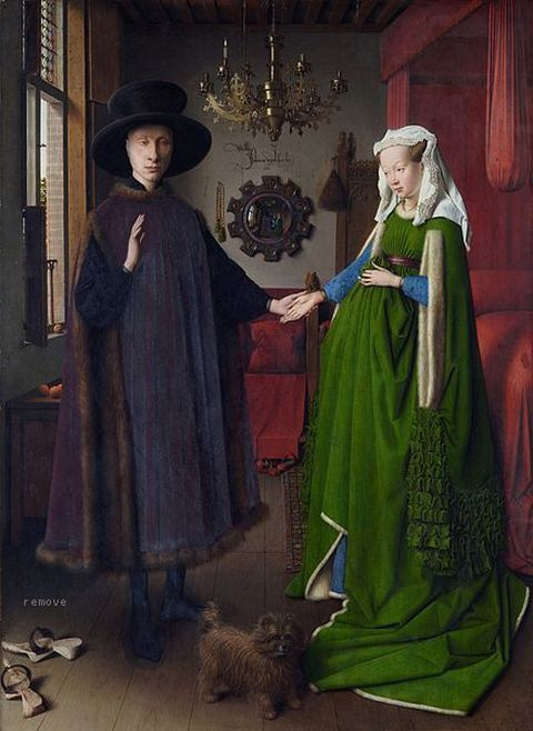 REMOVE-The Arnolfini Portrait