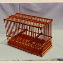 メジロ籠の作り始め