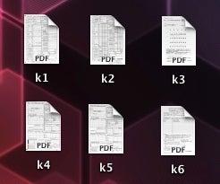pdf ファイル マック 白黒