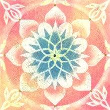 ハートのつばさ☆パステル和(NAGOMI)アート☆曼荼羅アート☆心の翼広げて自分らしく輝こう♪【東京都練馬区/大分県】-かおりん曼荼羅アート~つながり~