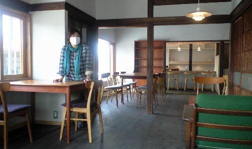 八七咲き街(はなさきまち)-橋本カフェ