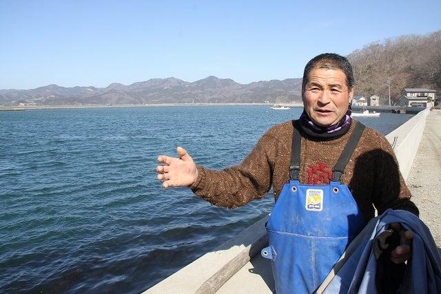 中島みゆき(記者)です。-長面浦の自然と漁業について語る小川滋夫さん