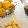 レモンカードで作ったクリームをサンドした、レモンカードマカロン♪の画像