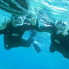 海は大荒れ・・・青の洞窟ツアーは全便欠航 サンゴビーチはとってもキレイ♪♪明日は行けるかな!?の画像