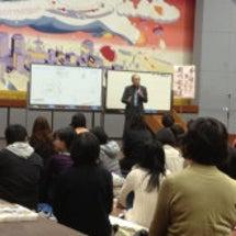 真弓先生の講演会