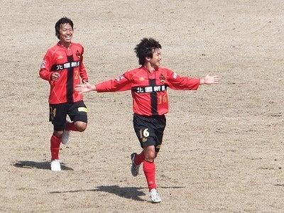 ☆りえのサッカーLOVE日記☆-20130317 山城ゴール後2