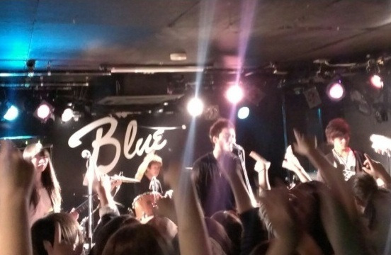 Dr.Yuck Official Blog-守山Blue ライブ写真