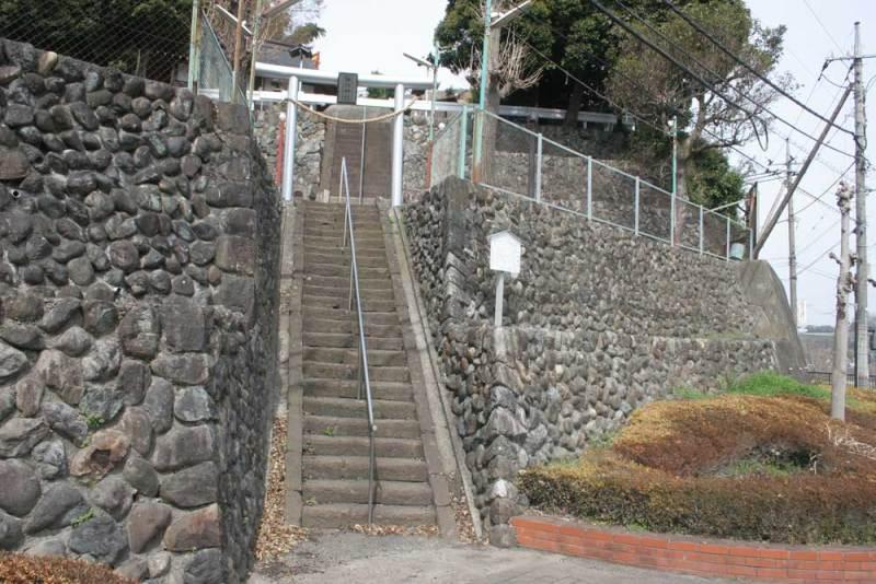 小沢古城/諏訪神社