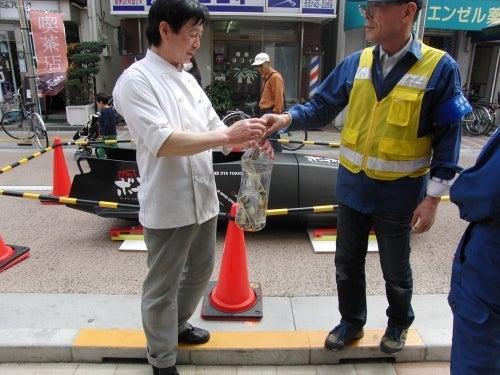 萩中通り商店会イベント展示
