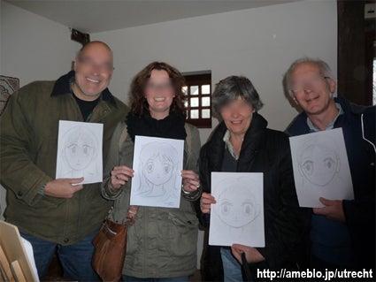 まんがオランダ生活★ミッフィーの街で国際結婚-オランダで漫画ワークショップ