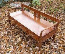 $オーダー家具・小物製作例 モダン・クラシック・カントリー・猫脚も木糸土にお任せ-猫脚ベンチ