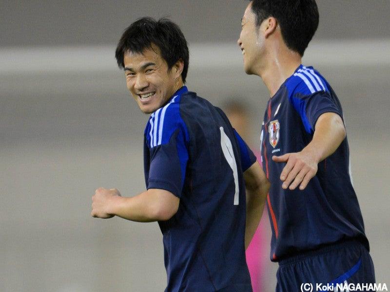 岡崎慎司 吉田麻也 サッカー 日本代表 速報 カナダ戦