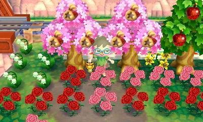 の あつまれ 桜の 木 森 どうぶつ