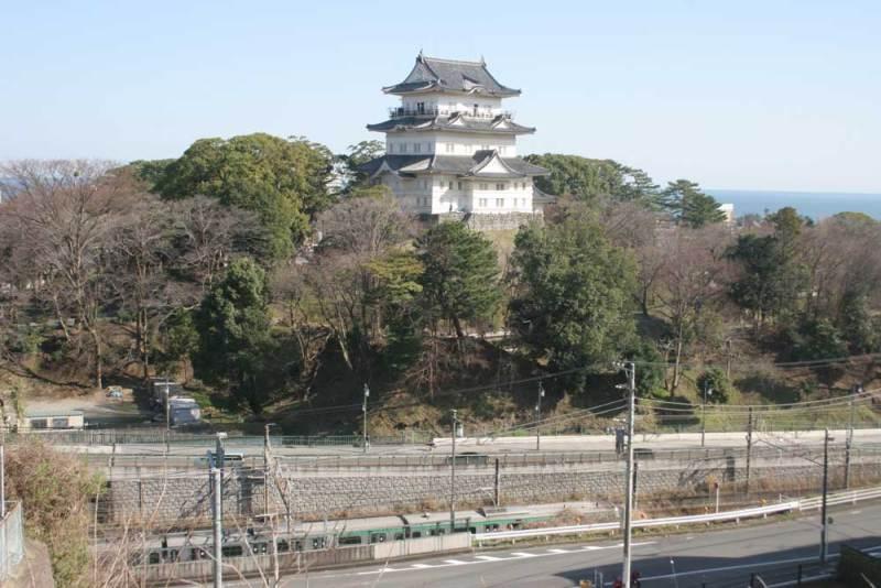 小田原古城/東曲輪から天守