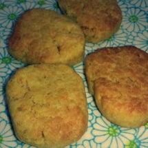 米粉にんじんクッキー