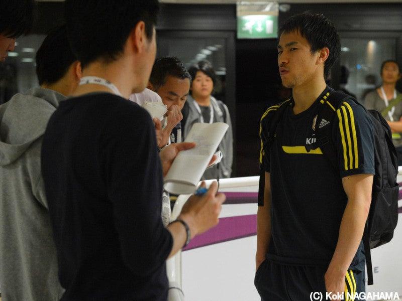 岡崎慎司 サッカー 日本代表 カナダ ヨルダン 練習 合宿