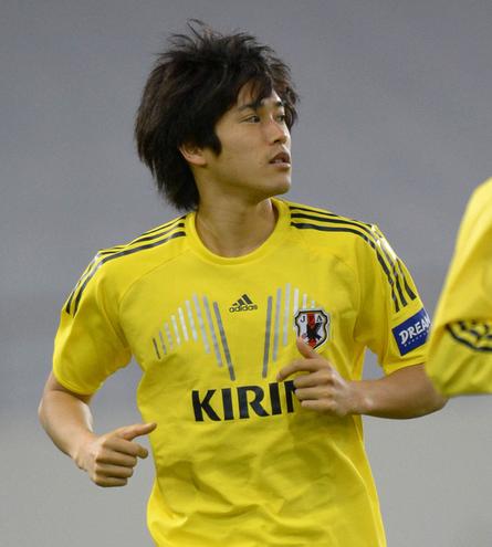内田篤人 サッカー 日本代表 カナダ ヨルダン 練習 合宿