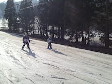 午後スキー10