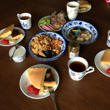 昨日のお茶会