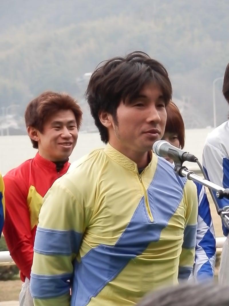 福山競馬□池田敏樹騎手、嬉勝則騎手、岡崎準騎手□   ☆レイにゃんと ...