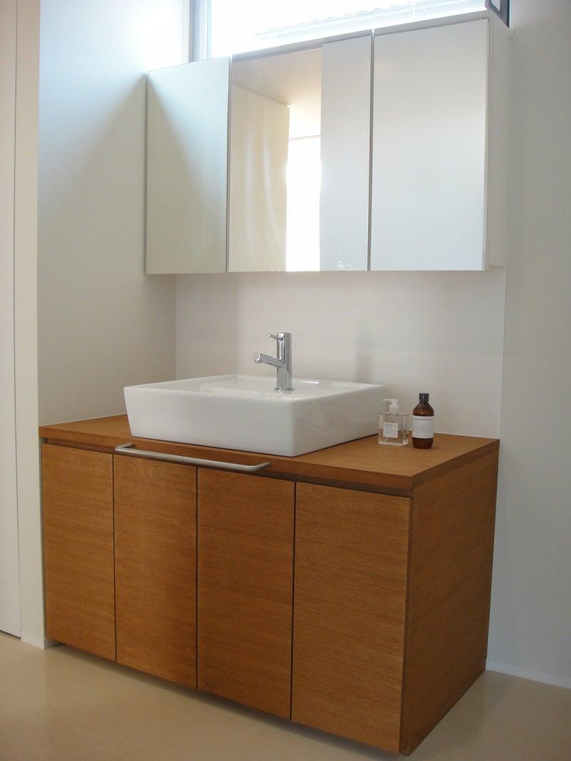 システム洗面台。 減額案。 | グンマーで本当の高気密高断熱の平屋を