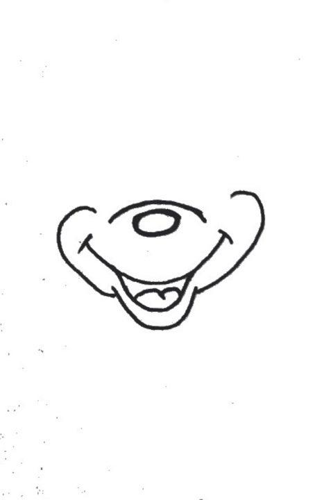 ミッキーマウスの描き方 Todays Lesson