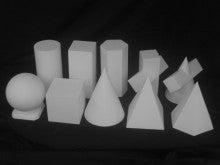 幾何形体というもの | きょうの石膏像