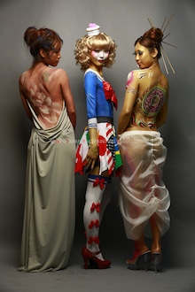 ボディデコレーションアートショウ開催事務局のブログ-ボディデコ2013