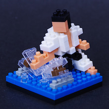 $happy nanoblock-空手1