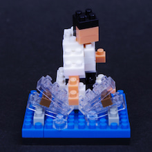 $happy nanoblock-空手2