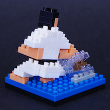 $happy nanoblock-空手4