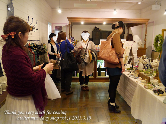 【二子玉川】atelier mim 1day shop-atelier mim 1day shop vol,1