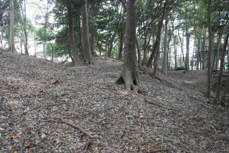 中和田城/二重の空堀