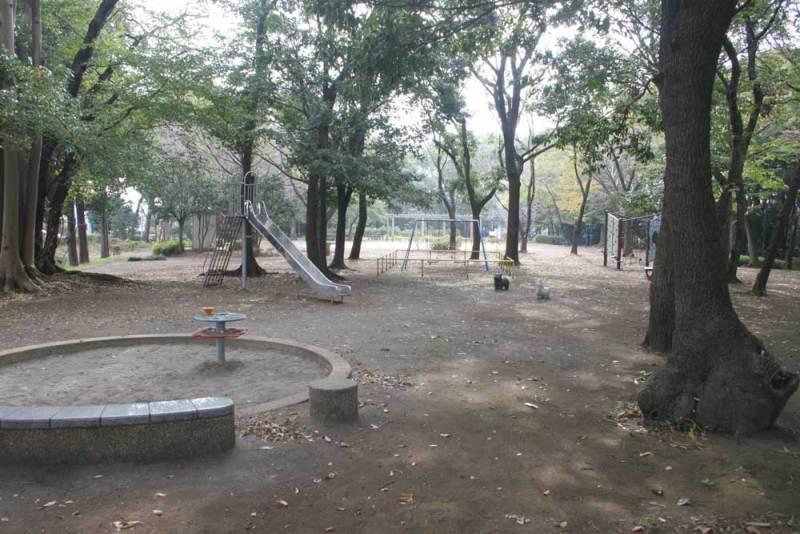 中和田城/一見普通の公園