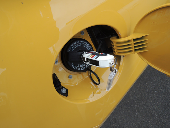 Laserblue Elise Diary in UK-500c-fuel lid4
