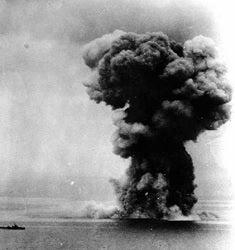 戦艦大和の爆発