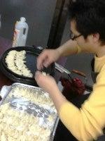 ケイ語学教室のブログ-餃>焼く