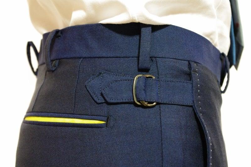 渋谷でスーツならavance青山店のブログ-サイドストラップ