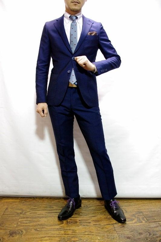 渋谷でスーツならavance青山店のブログ-花紺スーツ