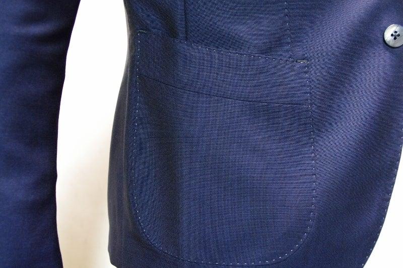 渋谷でスーツならavance青山店のブログ-パッチポケット