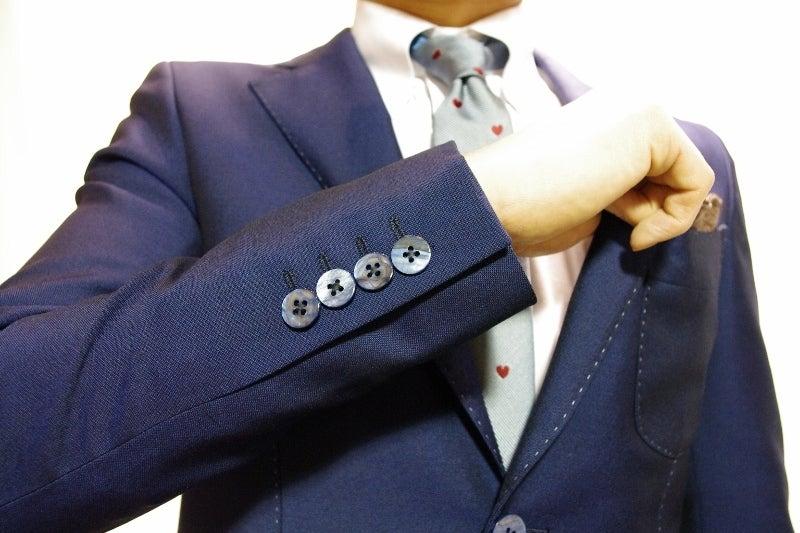 渋谷でスーツならavance青山店のブログ-本切羽仕様