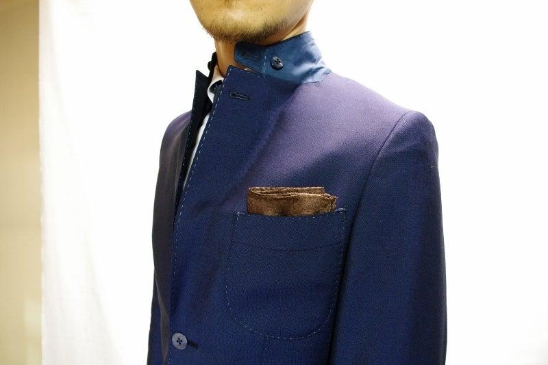 渋谷でスーツならavance青山店のブログ-立ち襟